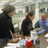 Spotkanie medyczne z Dr. Elizabeth Mikrut przy kawie i pączkach. Zdjęcia B. Kołodyński - SDC13664.JPG