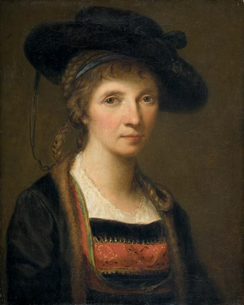 Angelica Kauffmann - Self-Portrait, 1781