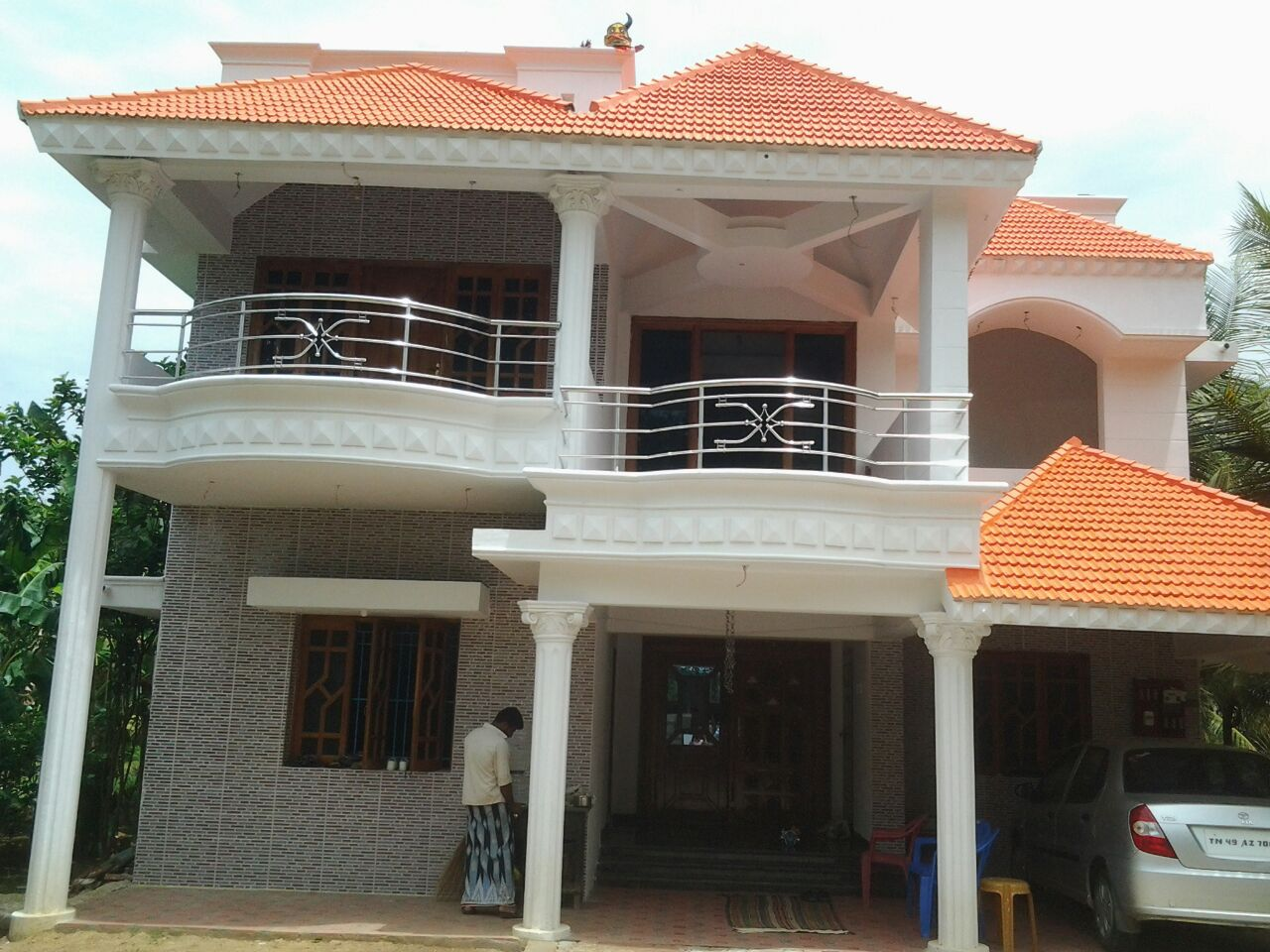 Contractors in chennai modern house latest house designs House architecture chennai
