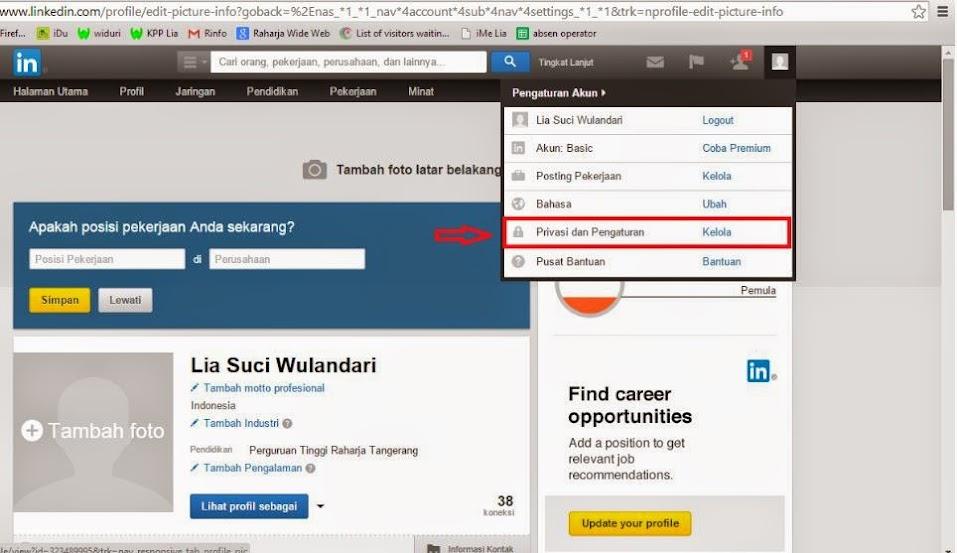 Cara Menambah atau Merubah Foto Profil pada LinkedIn | iRAN