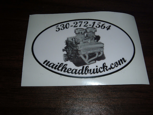 Decal, free with any purchase, just ask.