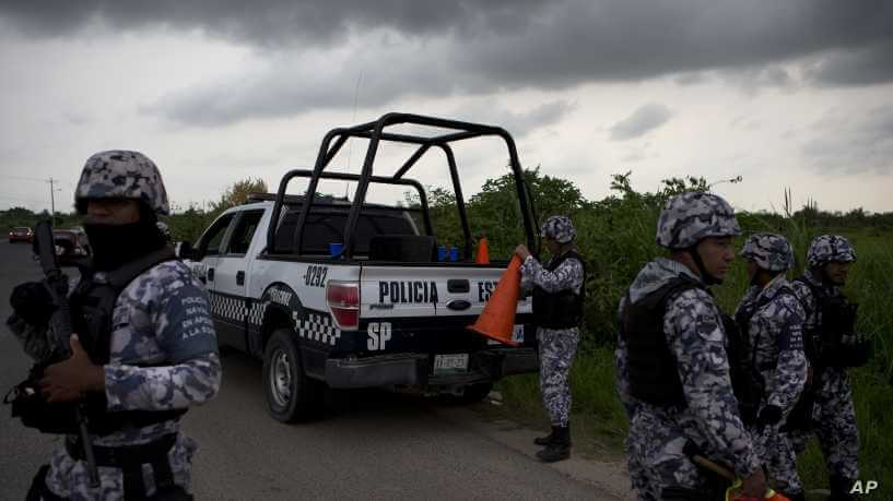 Mexican authorities found dumped dead bodies. PHOTO | AFP
