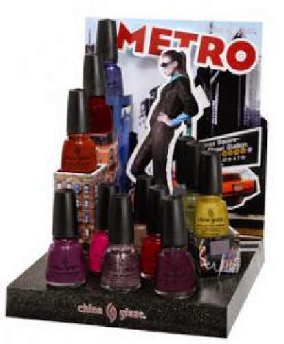 Press Release China Glaze Metro Collection