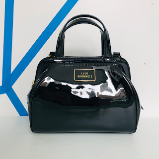Lulu Guinness Patent Leather Handbag