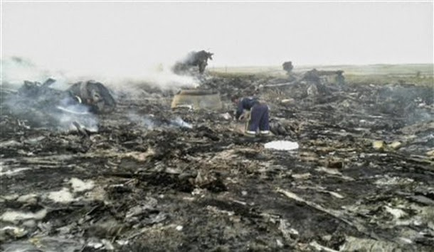 Ukraine Plane Crash.
