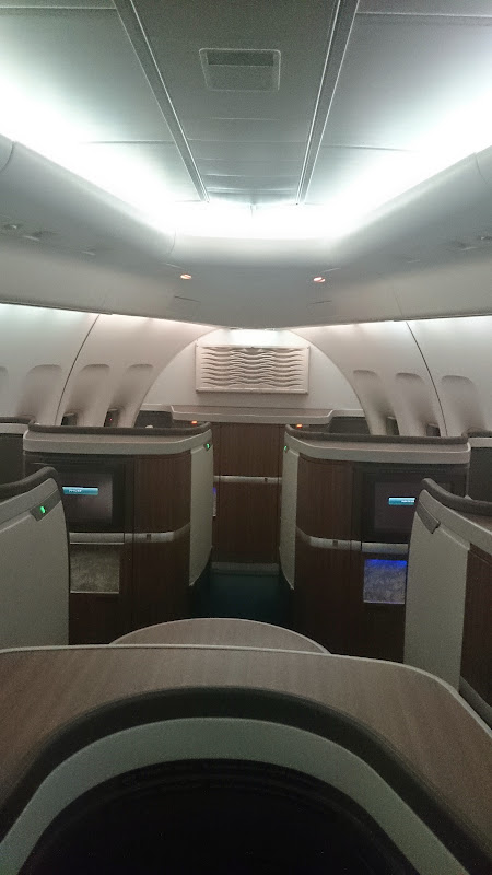 DSC 2990 - REVIEW - Cathay Pacific : First Class - Hong Kong to Tokyo (B747)