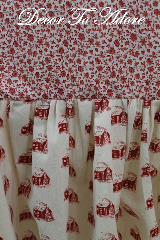 Little House Christmas Andover Fabric 013