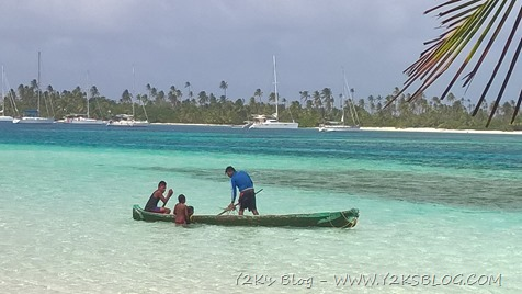 I pescatori Kuna di Tiadup - Cayo Holandes
