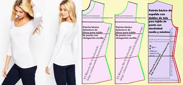 El Rincon De Celestecielo: Transformar patrones de blusa en ...