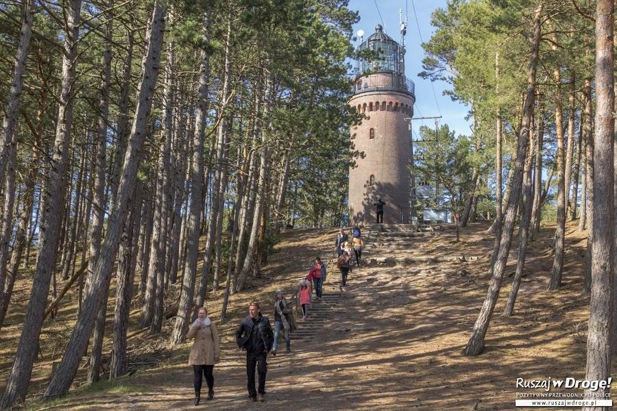 Droga do Latarni w Czołpinie