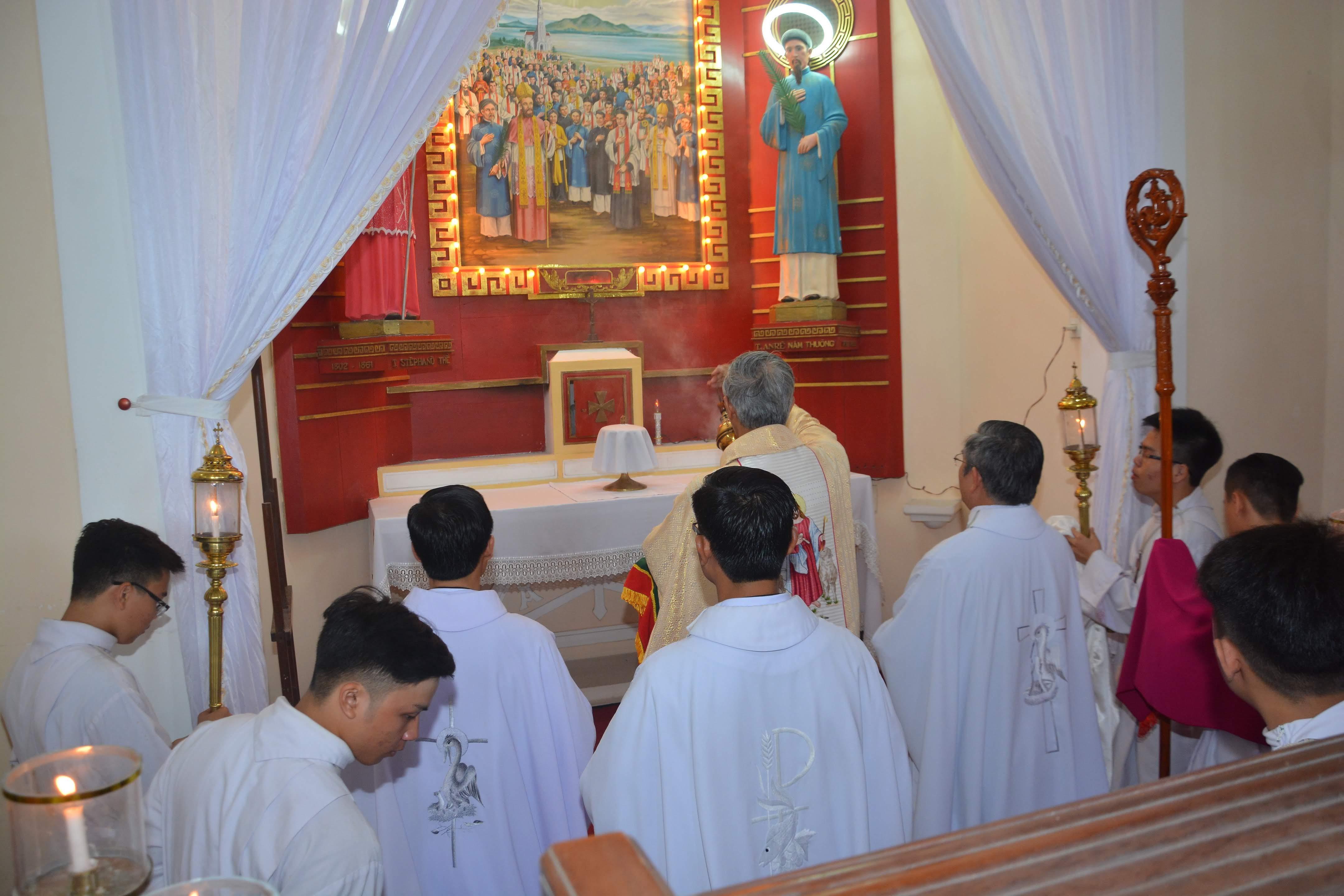 Thánh lễ tiệc ly tại giáo xứ Chánh Tòa - 2017