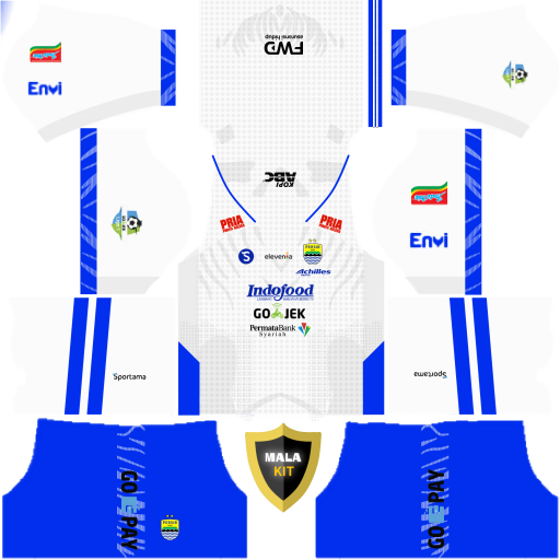Persib bandung kit dream league soccer 2019