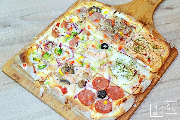 愛披薩|士林夜市美食-超美味的九宮格Pizza(菜單價錢)