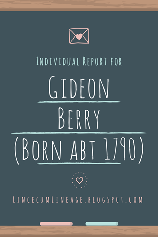 Individual Report -GBerry