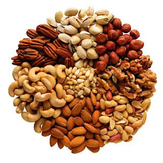 kacang-kacangan dan biji-bijian bagus untuk otak