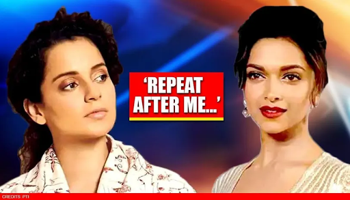 After Deepika Padukone Named In Drug Chats, Kangana Ranaut Fires 'repeat After Me' Jibe