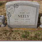 Ruby Lee Neely 1st wife of Audrey Guill