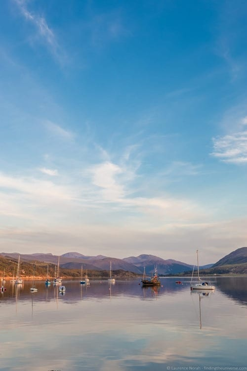 Sunset from Ullapool