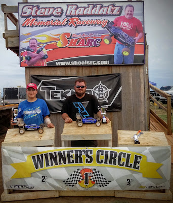 2WD Buggy Mod 1st: Freddy Marsh 2nd: Tyler Ernst 3rd, TQ: Willie Scott