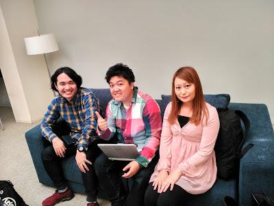 Tetsuya Maeda, Toshiharu Kamei, e Inori Mizutani