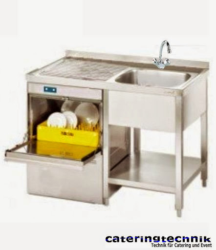 Spülcenter-Gläserspülmaschine