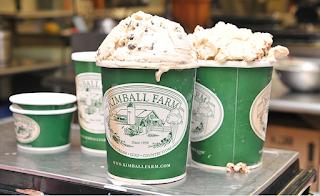 Ice cream at Kimball Farm
