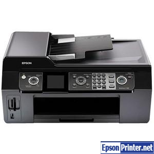Reset Epson WorkForce 500 printing device by program