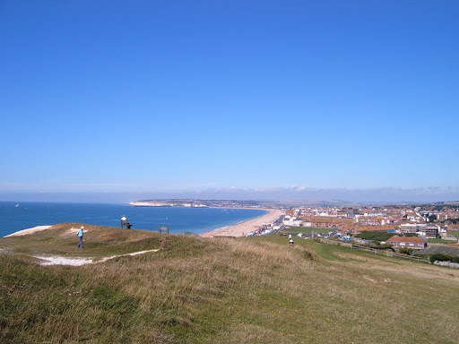 Seaford from cliff