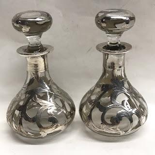 Sterling & Glass Bottles