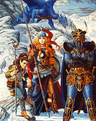 Dragon Hunters In Mountains, Magick Warriors 5