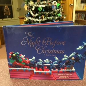 my new favorite christmas book is here in the childrens room its the night before christmas by clement c moore yes everyone already knows this story
