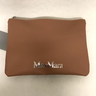 Max Mara Silk Scarf & Pouch
