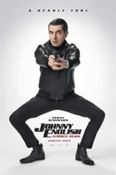 Capa Johnny English 3.0 2018 Dublado Torrent