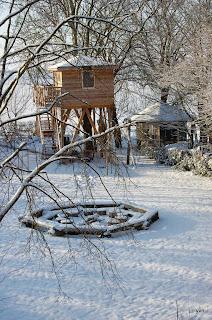 byzonder overnachten in de winter