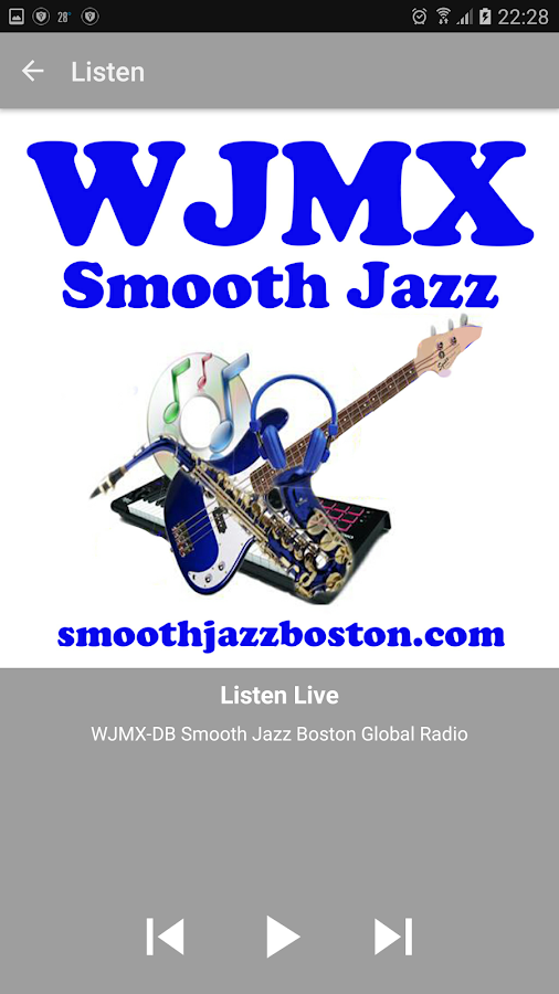 Smooth Jazz Boston Radio- screenshot
