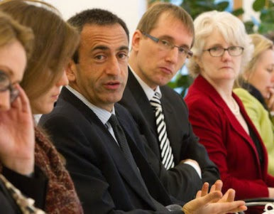 Philip Gordon külügyi államtitkár és Dr. Thomas Paulsen, a Körber alapítvány nemzetközi ügyekért felelős igazgatója