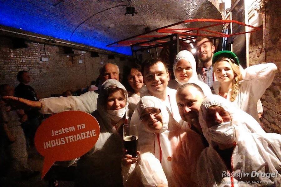 Zwariowana ekipa wizyty studyjnej na Industriada 2015