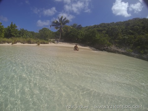 La spiaggetta di Green Island - Non Such Bay - Antigua