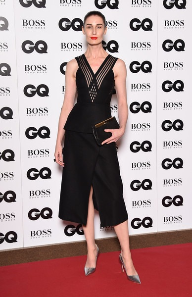 Erin O'Connor attends the GQ Men Of The Year Awards