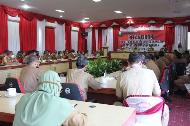 Bupati Balangan Pimpin Rakor Kepala SKPD