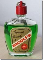 ricqlès liqueur de menthe