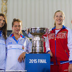 Lucie Safarova, Barbora Strycova, Ekaterina Makarova & Elena Vesnina - 2015 Fed Cup Final -DSC_5418-2.jpg