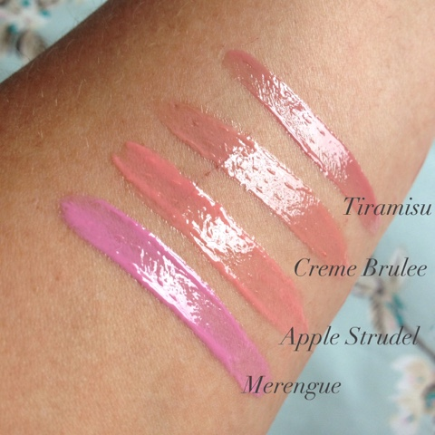 nyx butter gloss swatches