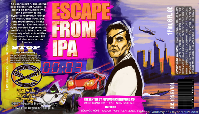 Pipeworks Brewing Excape From IPA