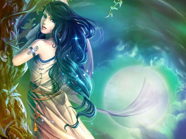 Beauty In Light Of Moon, Moon Magic