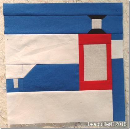 sewing machine block