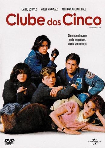 Clube dos Cinco - Capa DVD