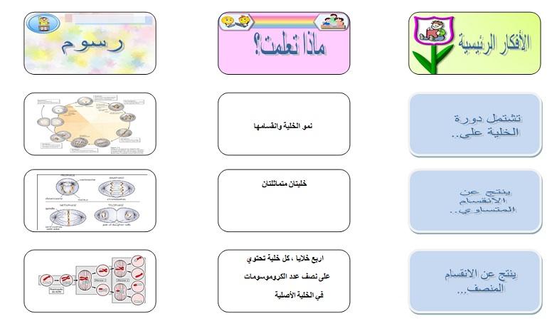 مطويات علوم سادس مطور الفصل الدراسي الأول كاملة