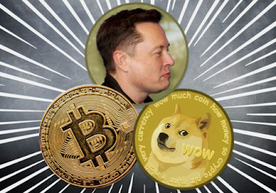 Dogecoin dan Bitcoin Yang Langsung Melonjak Karena Endorse Dari Elon Musk