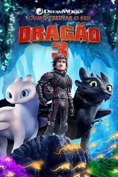 capa Como Treinar o Seu Dragão 3
